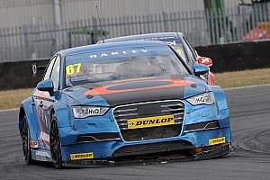 BTCC Race report Robb Holland adds to BTCC points tally at Rockingham