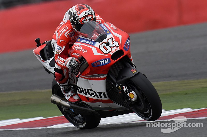 Dovizioso heads wet Friday practice at Misano
