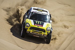 Dakar Race report X-raid Team wins Desafio Inca