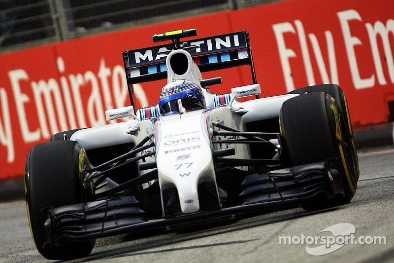 Williams struggles with the balance of both cars on first free practice day in Singapore