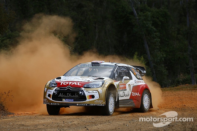 Home advantage for the DS3 WRCs!