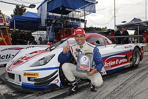 IMSA Qualifying report Fittipaldi pads Action Express points lead with Petit Le Mans pole