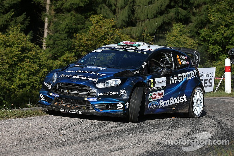 Positive finish for M-Sport in France
