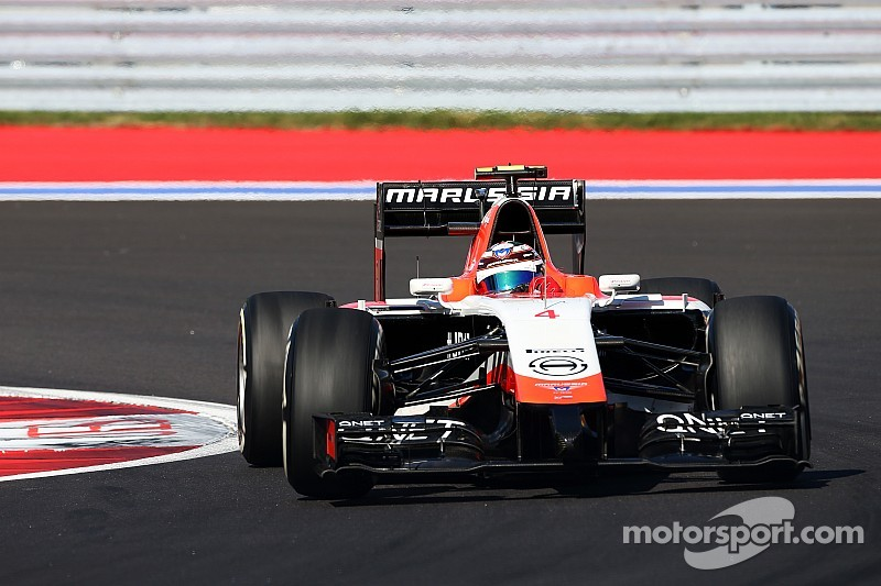 Marussia: Max Chilton ends the opening day of running in Sochi in 20th position
