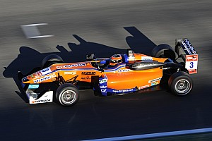 F3 Europe Race report Auer wins final race of 2014, Blomqvist runner-up in drivers' standings