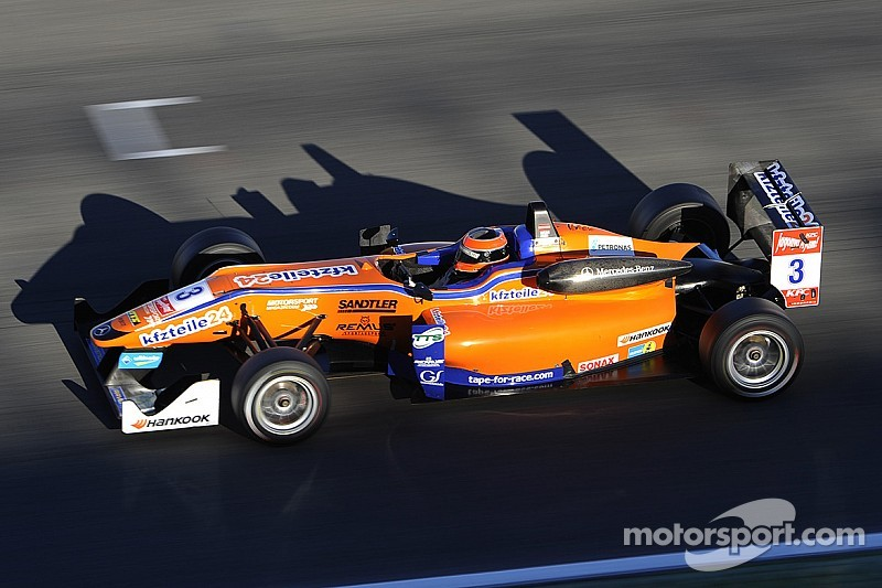 Auer wins final race of 2014, Blomqvist runner-up in drivers' standings
