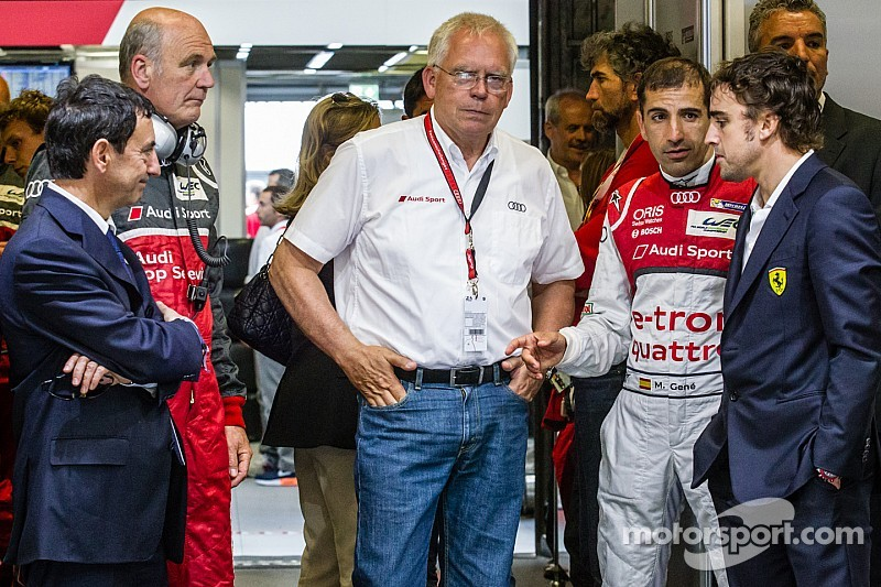 2016 Audi F1 program with Alonso rumored to be in the works
