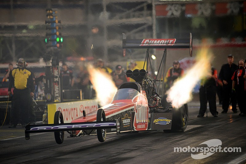 Future star? Driver Leah Pritchett takes small team to Top Fuel finals