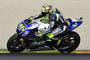 MotoGP Qualifying report Bridgestone: Last-lap surge from Rossi results in Valencia pole position