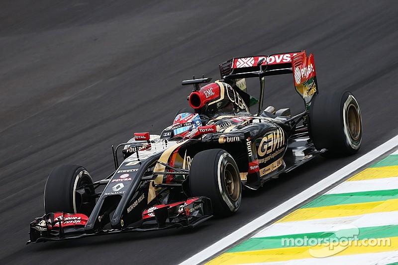 Lotus on qualifying for tomorrow's Brazilian GP: Cruel to be kind