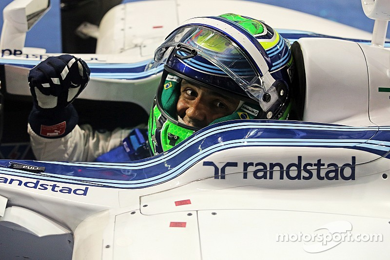 Massa keeps Hamilton on his toes with superb second