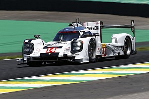 WEC Qualifying report Porsches on front row in Sao Paulo