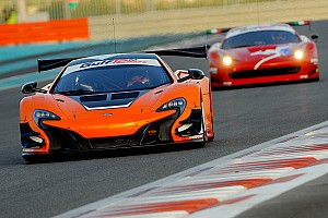 Endurance Qualifying report The McLaren 650S GT3 claims pole position for the 2014 Gulf 12 Hour on its debut outing