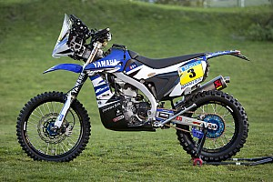Dakar Breaking news Yamaha's all-new 2015 WR450F rally gears up for the Dakar