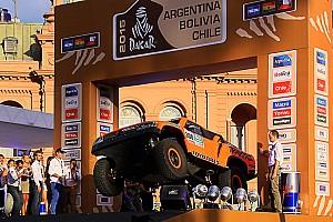 Dakar Preview Robb's Dakar ride: Scrutineering and start podium