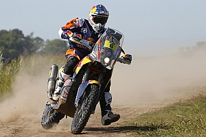Dakar Breaking news KTM factory rider Sam Sunderland injured, out of Dakar
