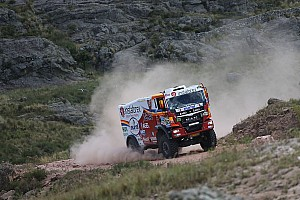 Dakar Stage report The eight stage is done for the Instaforex Loprais Team