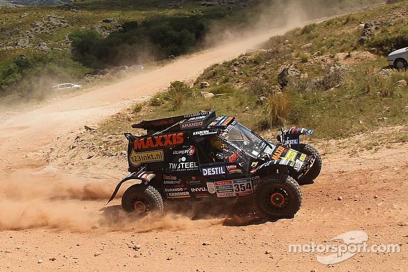 Tom Coronel finished Dakar 2015 - video