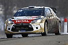 Sébastien Loeb and Kris Meeke attack!
