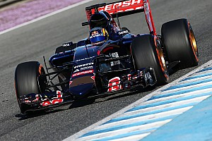 Formula 1 Testing report Toro Rosso stop early to ensure to be ready for tomorrow