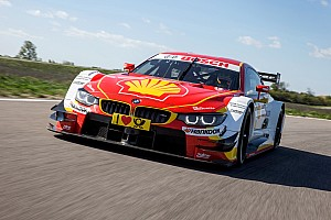 DTM Breaking news BMW reveals new Shell DTM livery