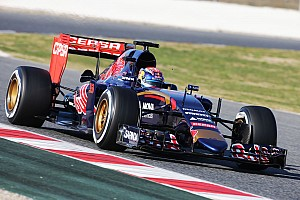 Formula 1 Testing report A busy Barcelona Test Day One for Toro Rosso's Verstappen