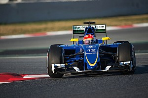 Formula 1 Breaking news Nasr refutes blame for Wolff crash: 'she didn't see me coming'