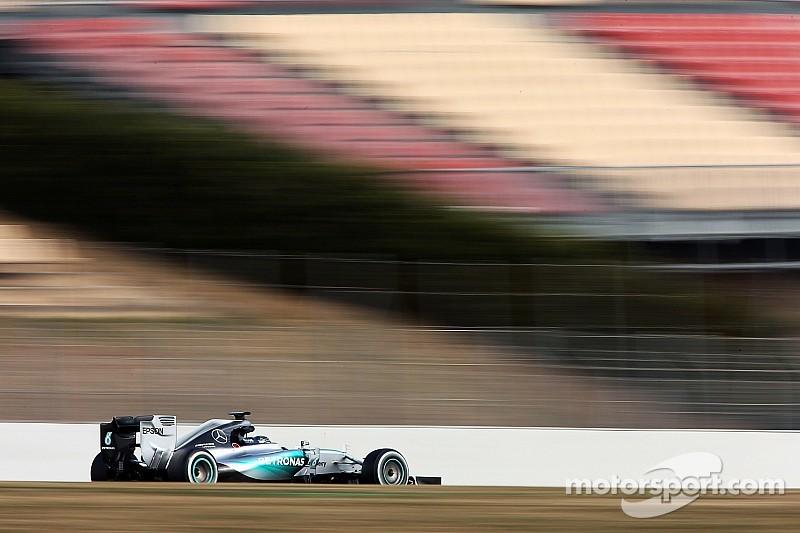 Rosberg y Mercedes felices con su desempeño