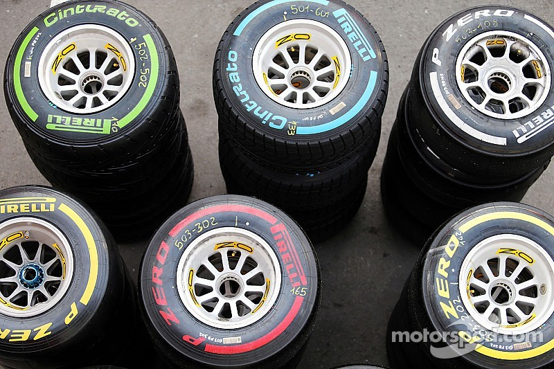 Pirelli announces initial tyre choices