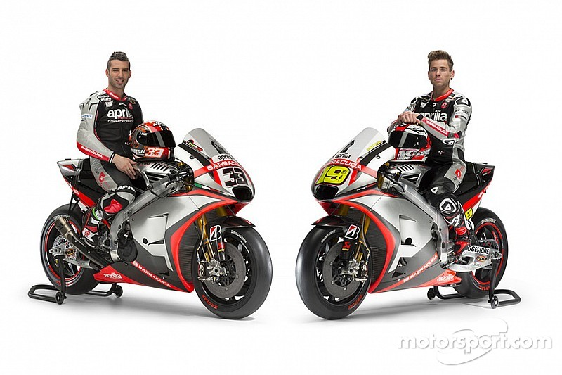 Aprilia officially launches new MotoGP challenger