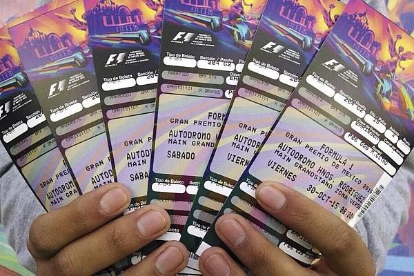 Agotan los boletos más baratos para GP de México