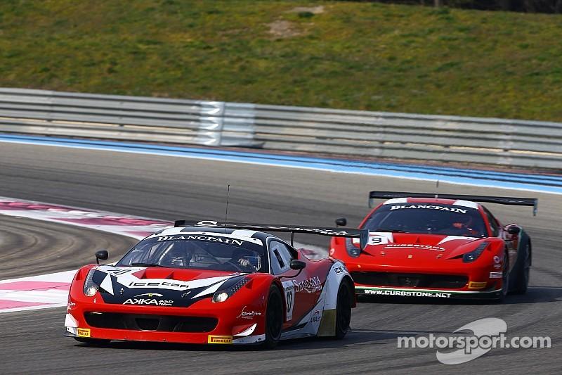 Blancpain Endurance Series back on track for preseason testing