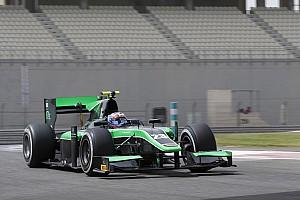 FIA Fórmula 2 Crónica de test Stanaway termina como el más rápido en Abu Dhabi