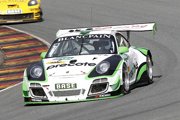 HB Racing Team Herberth Porsche wins the 2015 Hankook 12H Italy-Mugello