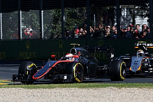 Formula 1 Race report McLaren-Honda's Button completes 56 laps and finish the race at Albert Park