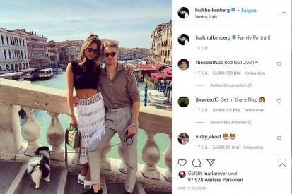 Urlaubsgrüße aus Venedig: Nico Hülkenberg hat sich verlobt!