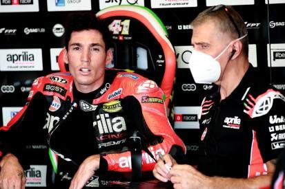 Crash in Runde 1: Aleix Espargaro hätte Franco Morbidelli fast mitgerissen