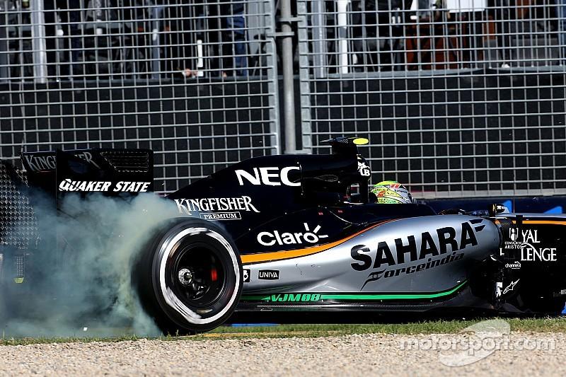 Pas d'évolution majeure avant l'Europe pour la Force India VJM08