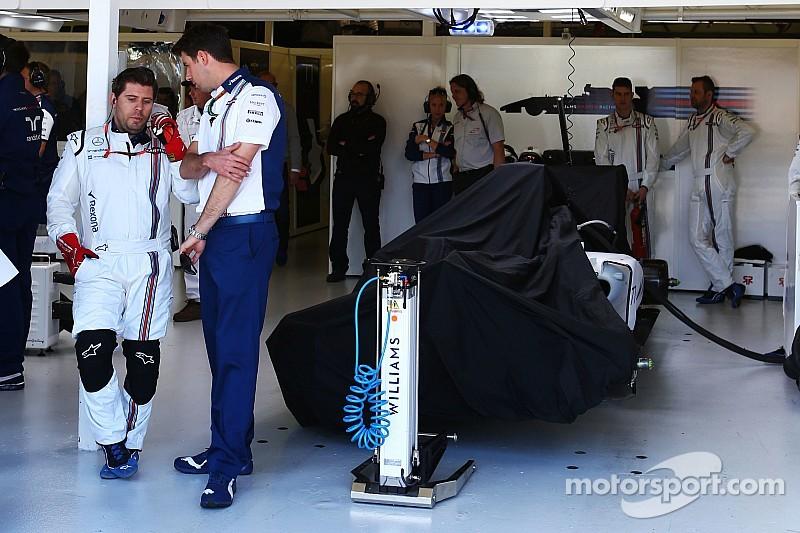 В Williams доработали машину Боттаса