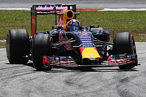 Formula 1 Practice report Red Bull's Kvyat scores a good time on Friday practice for the Malaysian GP