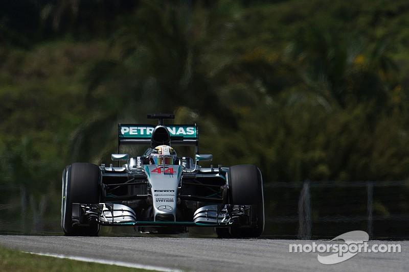 Battu par Vettel, Hamilton reste satisfait de sa course