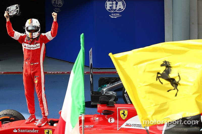 "Ferrari can ""push on"" after Vettel's first victory"