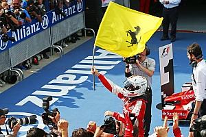 Formule 1 Résumé de course Vettel -