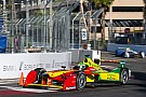 Di Grassi quickest as Vergne's crash punctuates Long Beach FP2