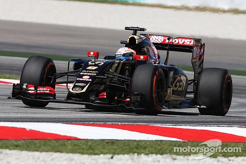 Grosjean n'en veut pas à Pérez pour l'accrochage en Malaisie