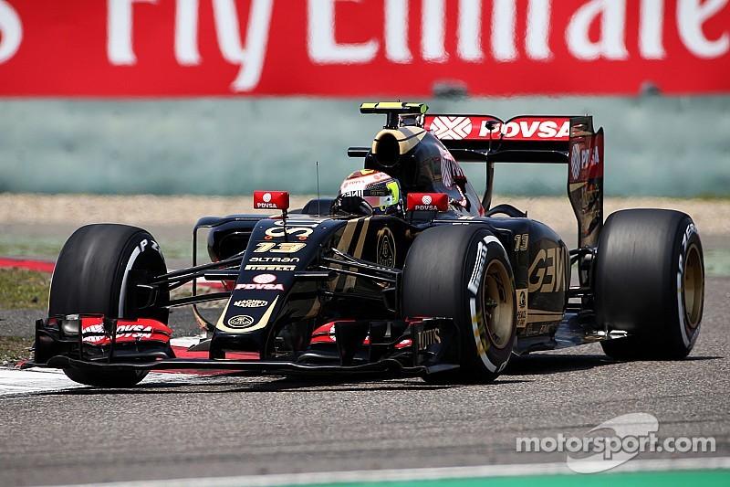 Multiples incidents pour Maldonado à Shanghai
