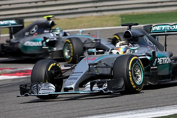 Hamilton dice que Rosberg no se esforzó lo suficiente