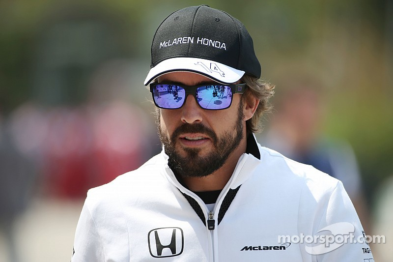 Alonso says double finish a big step for McLaren