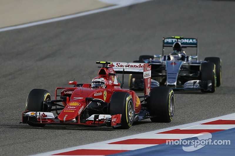 Bahrain GP: The first podium for Raikkonen since  he returned to Ferrari
