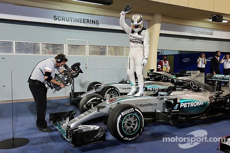 Mercedes, mejor que en 2014